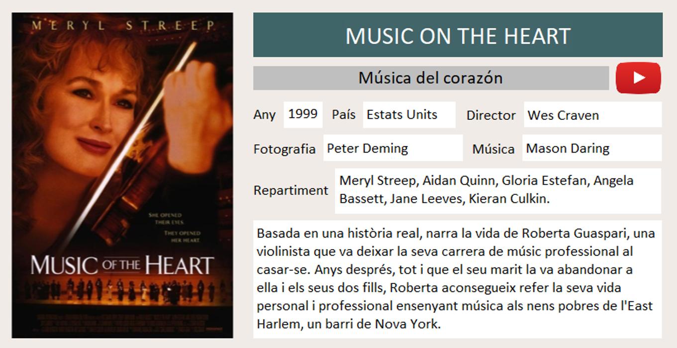 Música dekl corazón