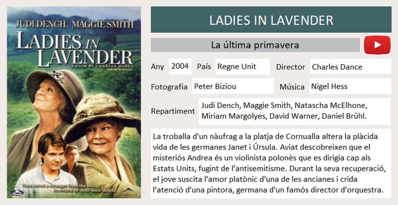 Ladies in Laverder
