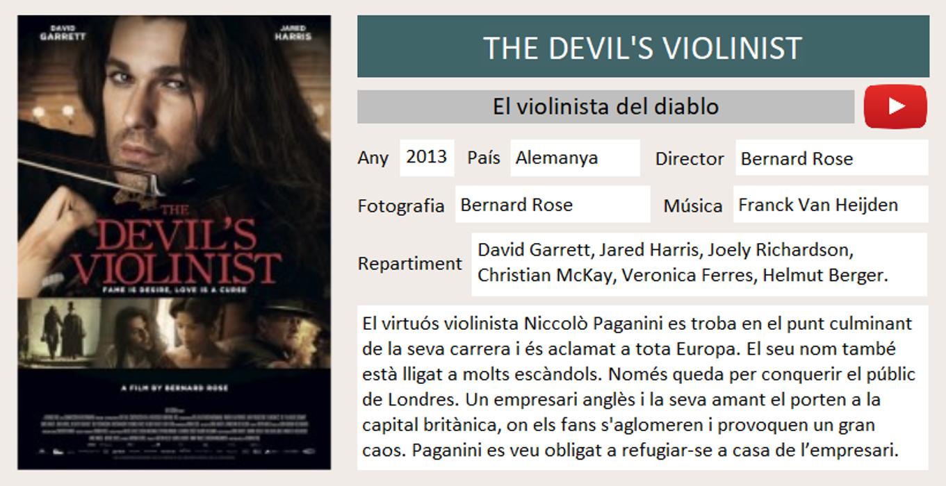 The devil's violinist0
